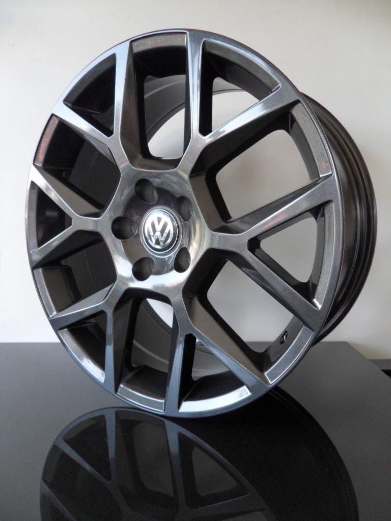 X4 18 U0026quot  Vw Golf Mk6 Edition 35 Alloy Wheels Gti Mk5 Mk6