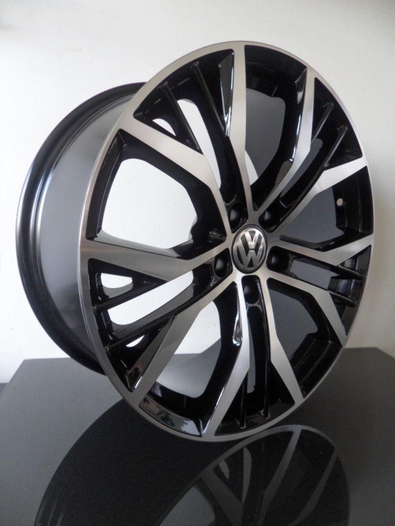 """x4 18"""" VW GOLF MK7 GTI ALLOY WHEELS SANTIAGO MK5 MK6 MK7 PASSAT AUDI A3 A4 5x112 - Select Rims"""